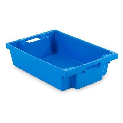Bac plastique de stockage empilable 600x400x150 mm