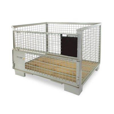 DIN Gitterbox 1240x835x970mm, neuf - Normes UIC 435-2