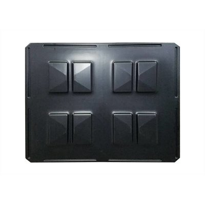 Couvercle en plastique pour caisse-palette 1220x1020x4mm
