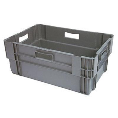 Bac plastique 600x400x320 mm - emboitable et empilable