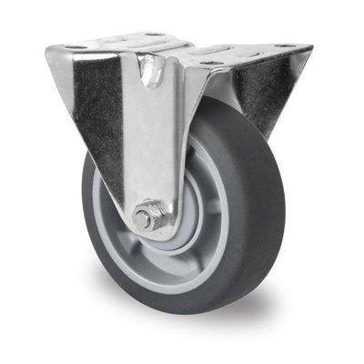 Roulette 100mm diamètre avec roulement à billes - PP /TPR