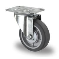 Roulette de manutention diamètre 100 mm avec roulement à billes - PP /TPR