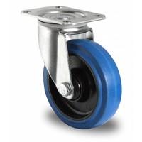 Roulette 100mm diamètre avec roulement à billes - PA / caoutchouc