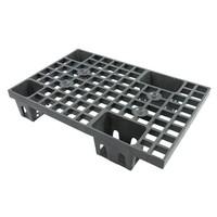 1/4 palette plastique emboîtable 600x400x120mm