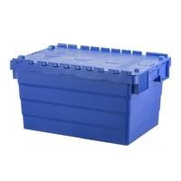 Bac plastique avec couvercle, empilable 600x400x320mm