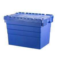 Bac plastique avec couvercle, empilable  600x400x416mm