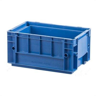 Caisse empilable RL-KLT 3147 de dimensions 297x198x147,5mm - bleue