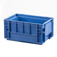 Caisse empilable RL-KLT 3215   de dimensions  297x198x147,5mm - bleue