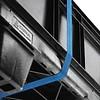 Demi-palette en plastique 800x600x130mm - emboîtable