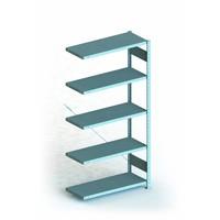 Etagère 1000x400x2000mm  5 niveaux en métal galvanisé