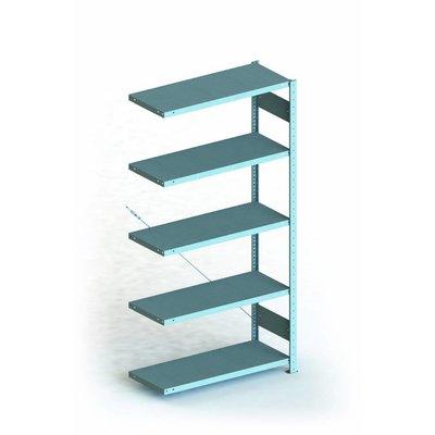 Etagère de dimensions 1000x400x2000mm en métal galvanisé