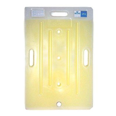 Plaque eutectique froide pour roll conteneur isotherme