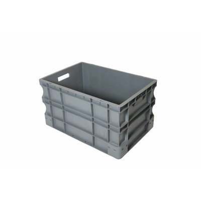 Bac plastique norme Europe 600x400x330mm - empilable