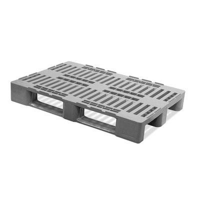 H1 Palette, offenes Deck, mit Rand, Metallverstärkung, 1200x800x160mm