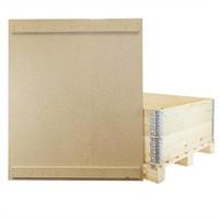 Deckel für Holzaufsatzrahmen, Spanplatten, mit 2 Befestigungsleisten, 1200x1000x9mm