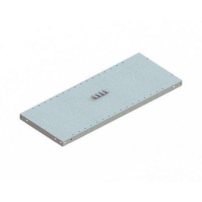 Fachboden für Metallregal, verzinkt, 1000x400x40mm
