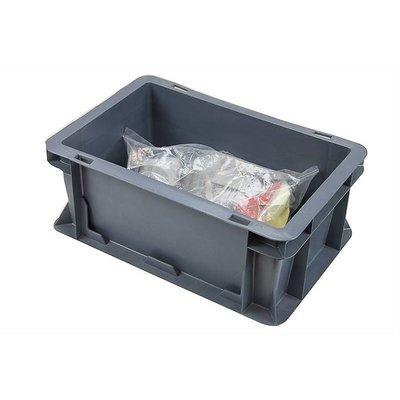 Eurobehälter, geschlossen, 5 Liter, stapelbar, 300x200x120mm