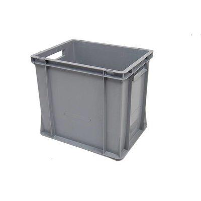 Eurobehälter, geschlossen, 35 Liter, verstärkter Boden, stapelbar, 400x300x360mm