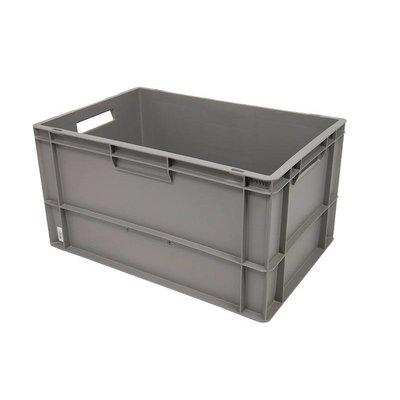 Eurobehälter, geschlossen, 60 Liter, stapelbar, 600x400x320mm