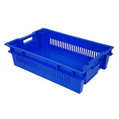 Drehstapelbehälter, geschlossen und durchbrochen, Euronorm, 25 Liter, 600x400x150mm