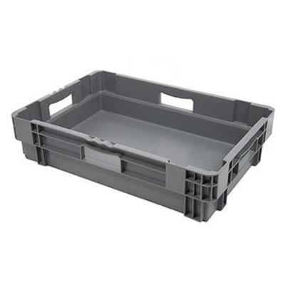 Drehstapelbehälter, geschlossen, Euronorm, 26 Liter, nestbar,  600x400x140mm