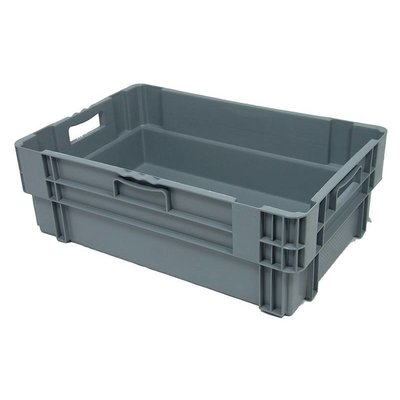 Drehstapelbehälter, geschlossen, 38 Liter, nestbar, 600x400x205mm
