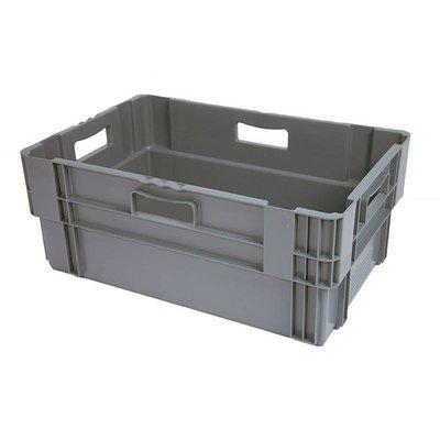 Drehstapelbehälter, geschlossen, Euronorm, 47 Liter, nestbar, 600x400x240mm