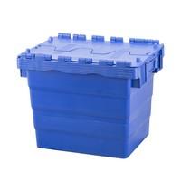 Kunststoffbehälter, nestbar, Klappdeckel, 400x300x365mm