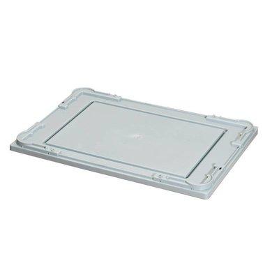 Kunststoffdeckel für Kunststoffbehälter, 600x400x10mm