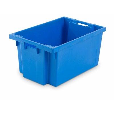 Drehstapelbehälter, geschlossen, stapelbar, 50 Liter, nestbar, 600x400x300mm