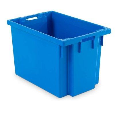 Drehstapelbehälter, geschlossen, stapelbar, 70 Liter, nestbar, 600x400x400mm