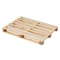 Palet de madera de un uso 1200x800x120mm 7 tablas
