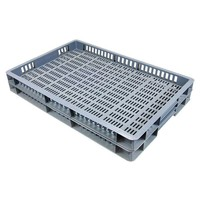 Caja apilable Euronorm 600x400x50mm rejilla