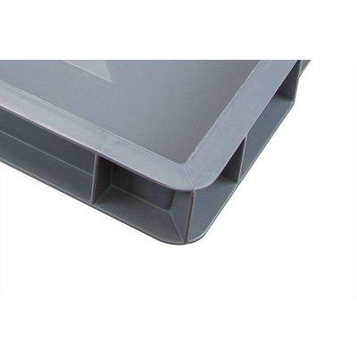 Caja apilable Euronorm 600x400x50mm lisa
