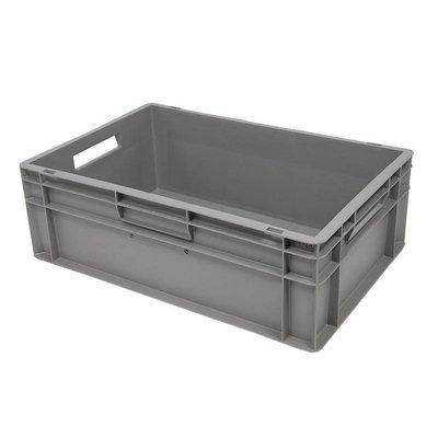 Caja apilable Euronorm 600x400x200mm lisa