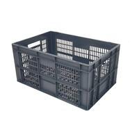 Caja apilable Euronorm 600x400x290mm rejilla