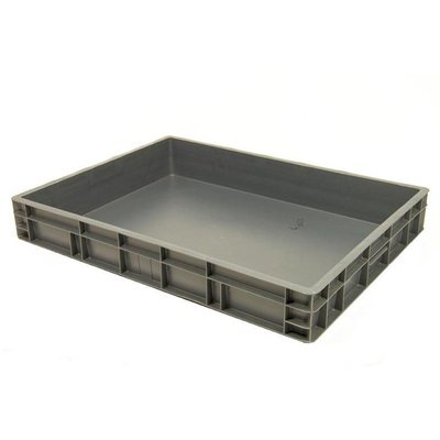Caja apilable Euronorm 800x600x120mm