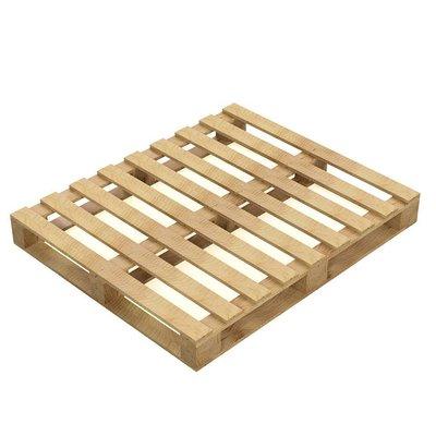 Palet de madera de un solo uso 1200x1000x136mm