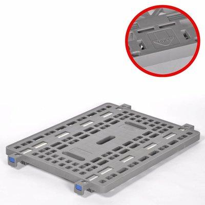 Estante de plástico 800x600x20mm