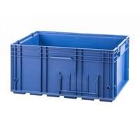 Caja de plástico apilable 594x396x280mm