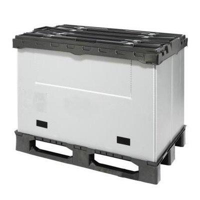 Cajón de plástico plegable 1220x820x928mm