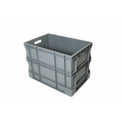 Caja apilable Euronorm 600x400x430mm de plástico PP