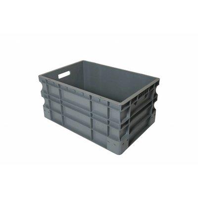 Caja apilable Euronorm 600x400x290mm de plástico PP