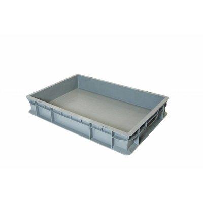 Caja apilable Euronorm 600x400x100mm de plástico PP