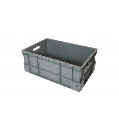 Caja apilable Euronorm 600x400x220mm de plástico PP