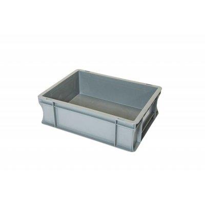 Caja apilable Euronorm 400x300x120mm de plástico PP