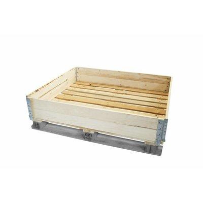 Collar de palet de madera nuevo 1200x1000mm de clase B