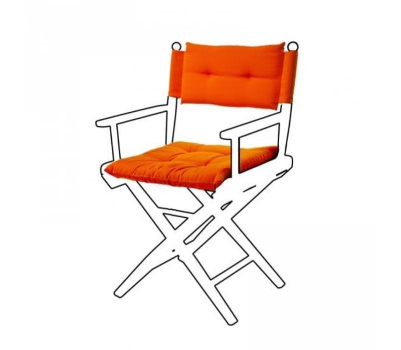 Deluxe kussens voor regisseursstoel I - oranje