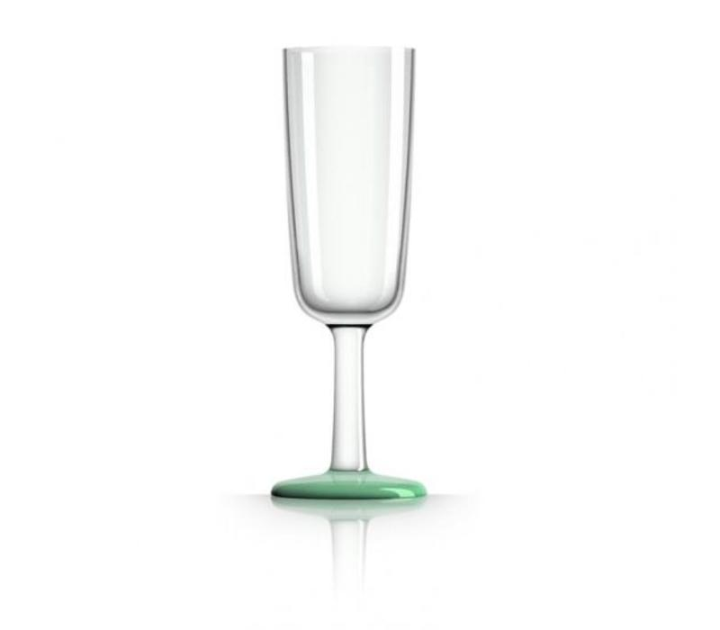 Marc Newson - champagneglas - groen - Glow in dark