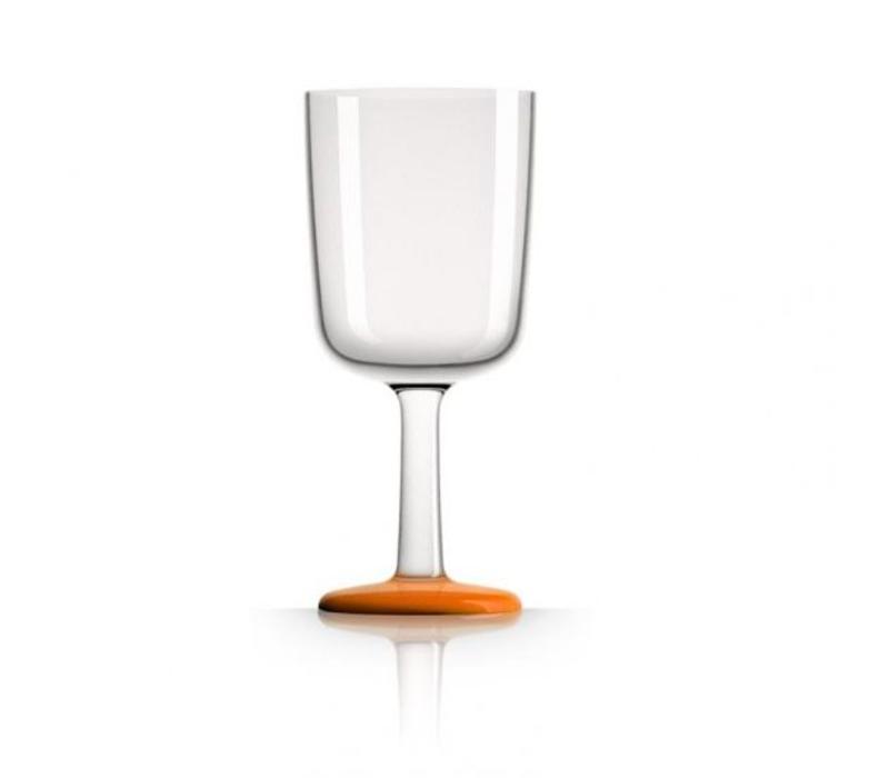 Marc Newson - wijnglas - oranje